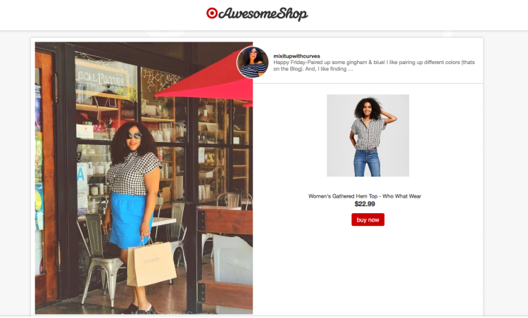 WWW Gingham Top Awesome Shop