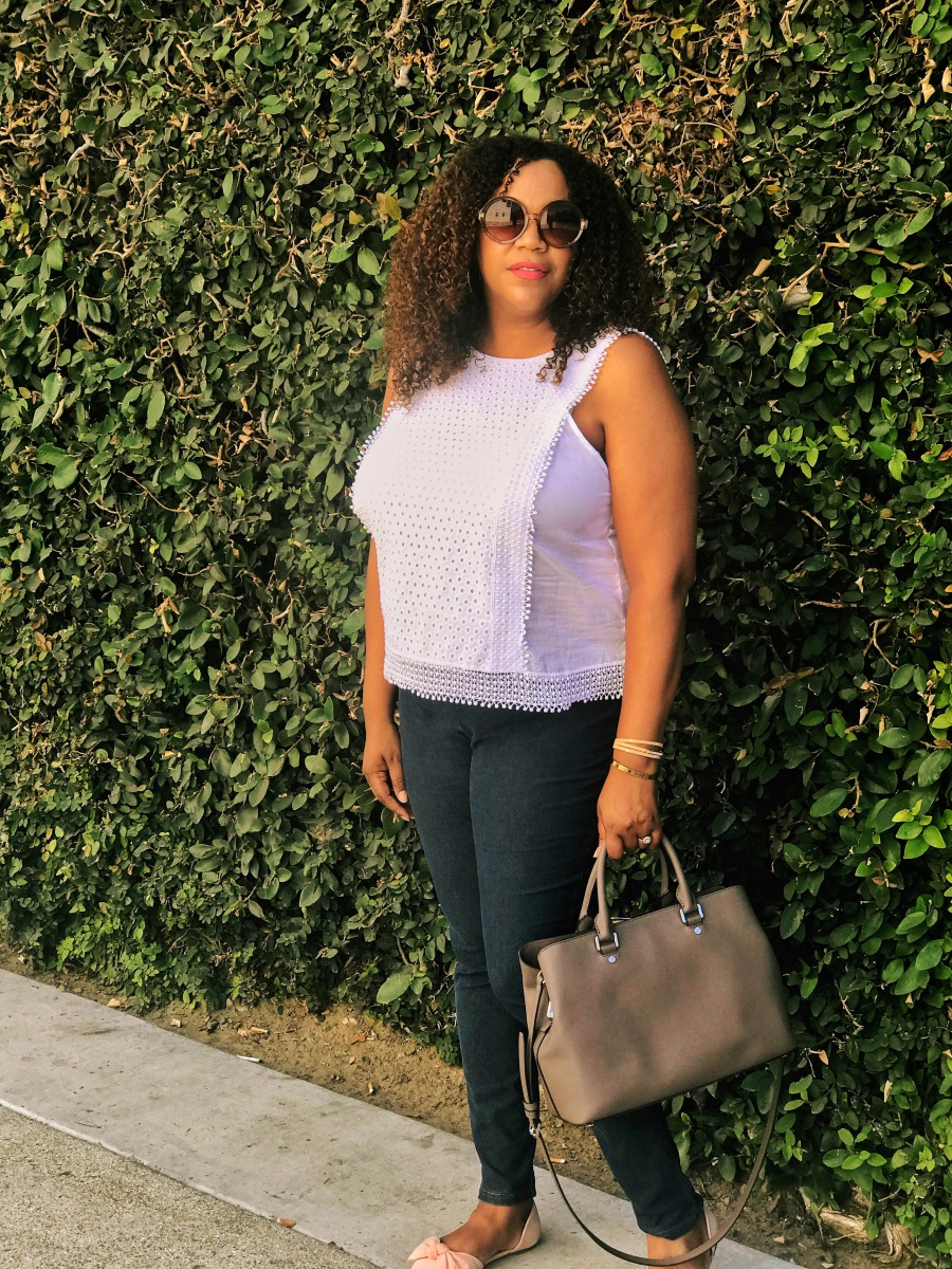 The Perfect White Top for Summer