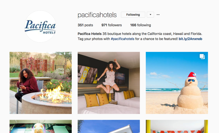 Pacifica Hotel IG Screen shot