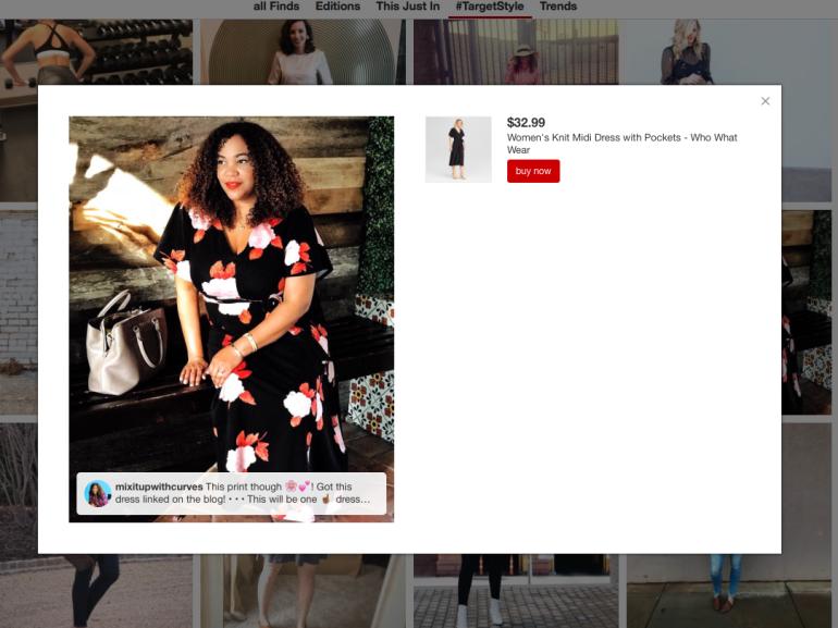WWW Floral Dress TargetStyle